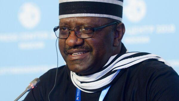 L'ambasciatore della Nigeria in Russia Steve Davis Ugbah - Sputnik Italia