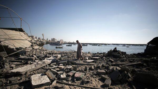 Le distruzioni nella Striscia di Gaza. - Sputnik Italia