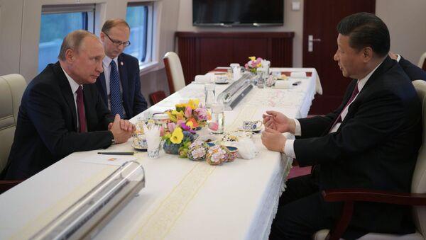 La visita ufficiale di Vladimir Putin in Cina - Sputnik Italia