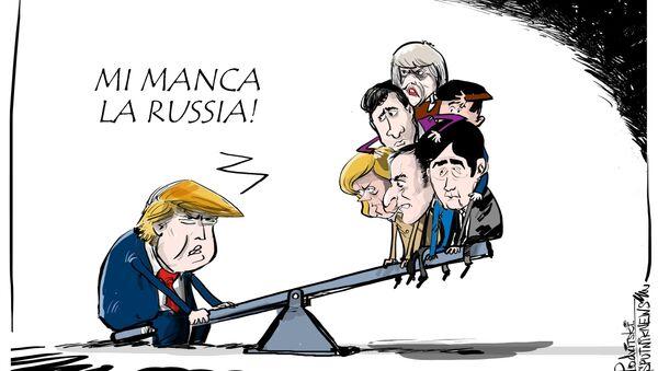 Trump vorrebbe la Russia nuovamente nel G8 - Sputnik Italia