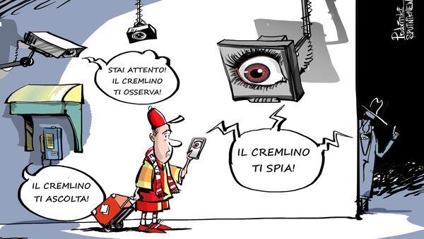 La Russia vi spia, l'intelligence USA consiglia di non portare i telefoni ai Mondiali - Sputnik Italia