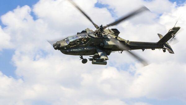 AH-64 Apache helicopter - Sputnik Italia