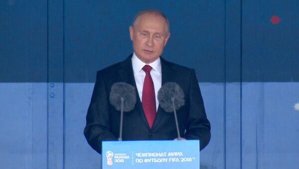 L'intervento di Putin - Sputnik Italia