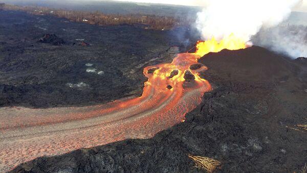 L'eruzione del vulcano Kilauea sulla Hawaii. - Sputnik Italia
