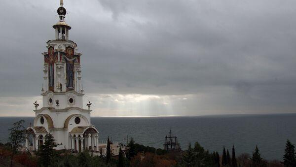 Una chiesa realizzata da Andrey Bogolyubov - Sputnik Italia