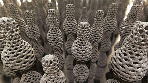 Il modello del nanotubo di fullerene del diametro variabile - Sputnik Italia