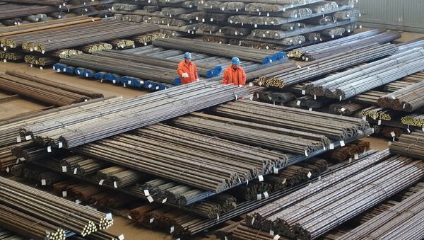 Un centro siderurgico in Cina - Sputnik Italia