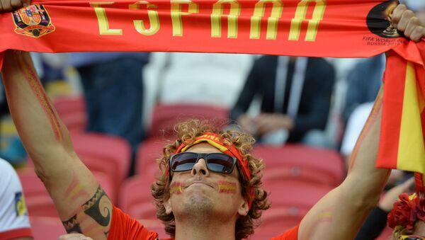 Tifoso della Spagna ai Mondiali 2018 - Sputnik Italia