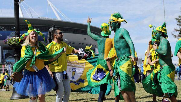 tifosi brasiliani - Sputnik Italia