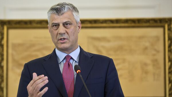 Hashim Thaci - Sputnik Italia