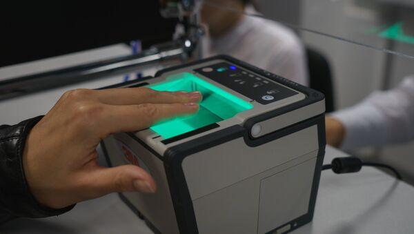 Lettore di impronte digitali. - Sputnik Italia