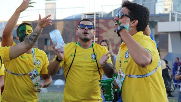 Tifosi brasiliani ai Mondiali - Sputnik Italia