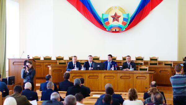 Il Consiglio Popolare di Lugansk - Sputnik Italia