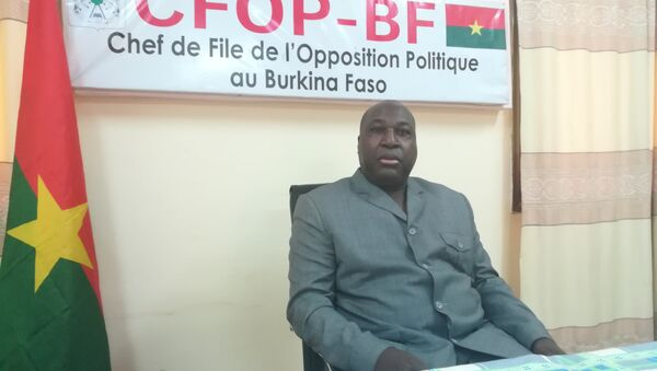 Zéphirin Diabré, le chef de file de l'opposition burkinabè (CFOP). - Sputnik Italia