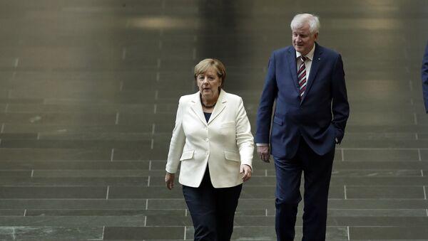 Angela Merkel e Horst Seehofer - Sputnik Italia