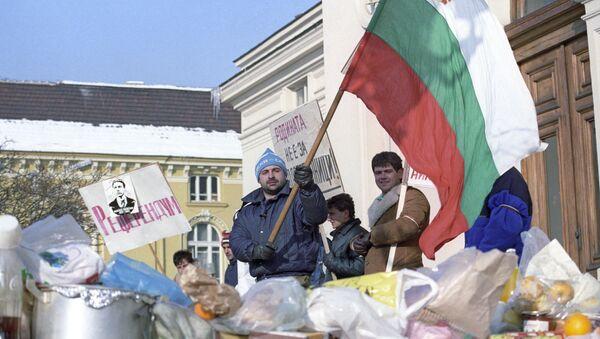 Manifestazioni a Sofia, Bulgaria - Sputnik Italia