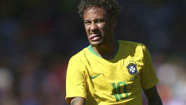 L'uomo simbolo della nazionale brasiliana, Neymar - Sputnik Italia