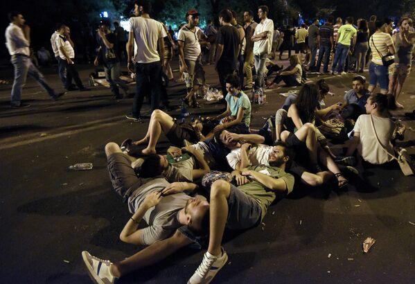Proteste a Yerevan. - Sputnik Italia