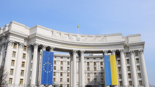 Bandiere UE e Ucraina - Sputnik Italia