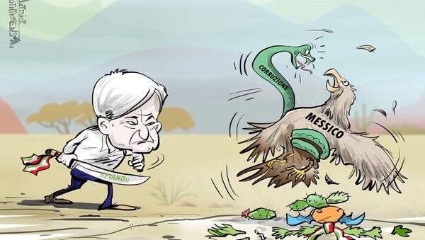 Obrador ha promesso di salvare il Messico dal cancro della corruzione - Sputnik Italia