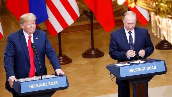 L'incontro Putin-Trump ad Helsinki - Sputnik Italia