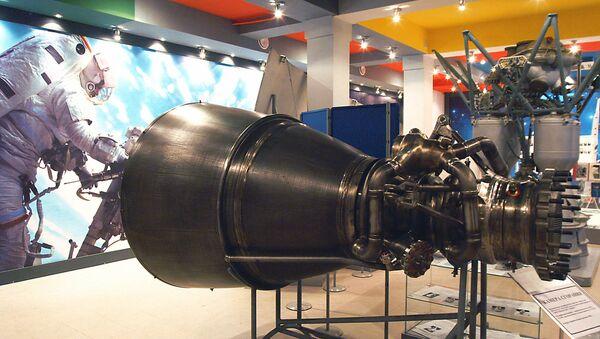 Camera di combustione del propulsore RD-171 - Sputnik Italia