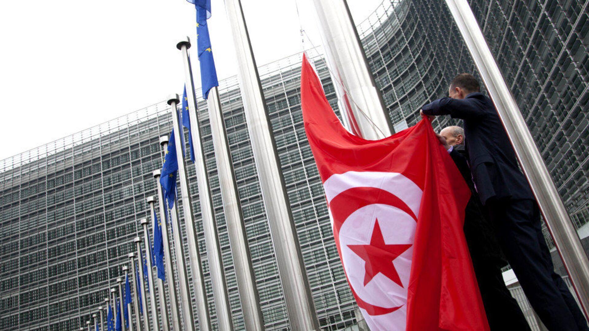 Bandiera della Tunisia - Sputnik Italia, 1920, 26.07.2021