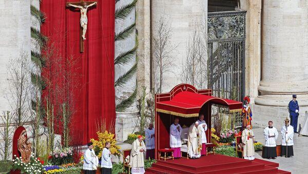 La messa di Pasqua in Vaticano - Sputnik Italia