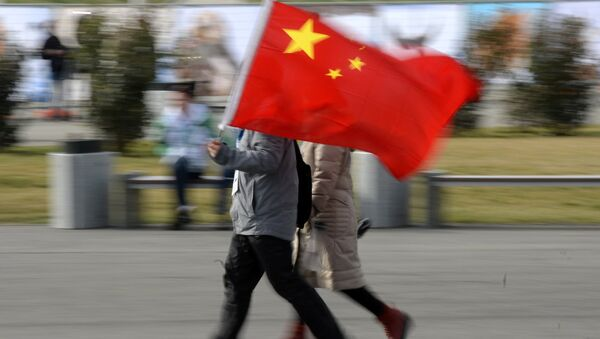 La bandiera della Cina - Sputnik Italia