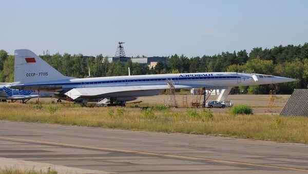 Les visiteurs du musée  pourront voir comment était le Tu-144 quand il volait - Sputnik Italia