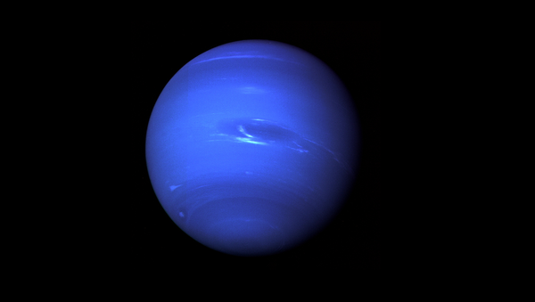 Neptune, the Eighth Planet from the Sun, Nicknamed The Windy Planet for its winds that can surpass 1,100 mph. - Sputnik Italia
