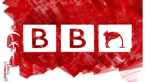 BBC caricatura - Sputnik Italia