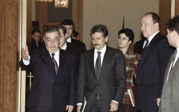 Evgeny Primakov e Massimo d'Alema nel 1998 - Sputnik Italia
