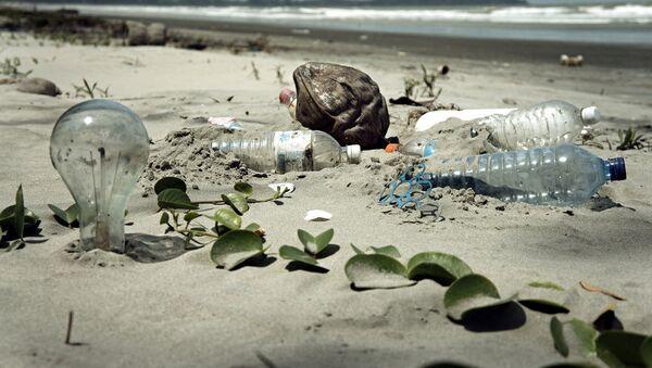 Spazzatura sulla spiaggia - Sputnik Italia