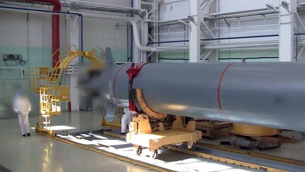 Drone sottomarino russo Poseidon - Sputnik Italia