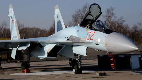 Sukhoi Su-35S - Sputnik Italia