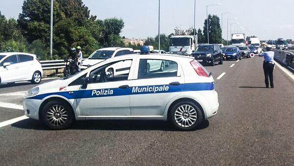 Circolaziona bloccata a Bologna, dopo l'esplosione, il 6 augosto 2018 - Sputnik Italia