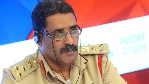 Il portavoce delle forze armate libiche, generale Ahmed al-Mismari - Sputnik Italia