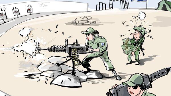 Donne soldati in Israele - Sputnik Italia