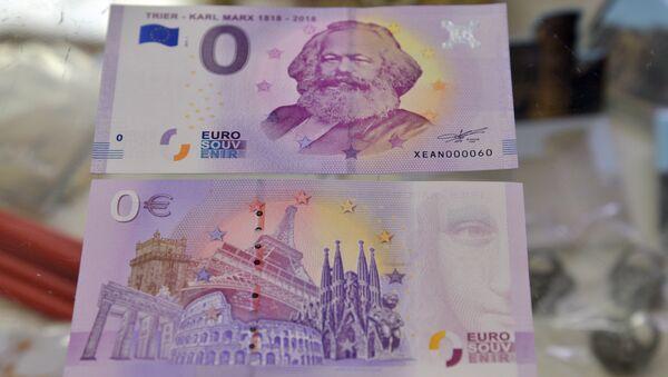 Banconota da 0 euro con immagine di Karl Marx - Sputnik Italia