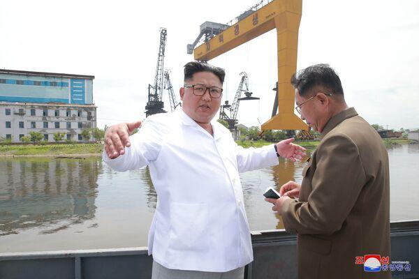 Kim e le sue ispezioni - Sputnik Italia