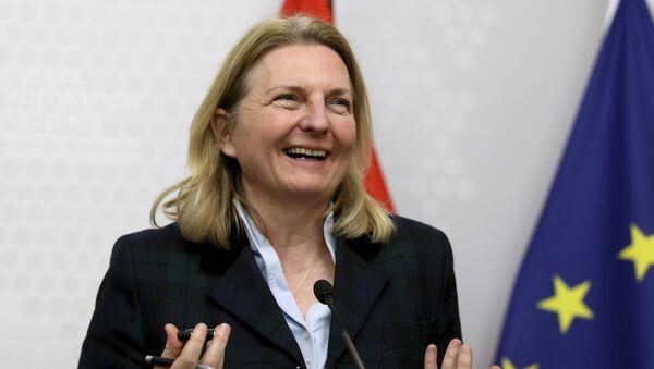 Außenministerin Karin Kneissl (Archiv) - Sputnik Italia