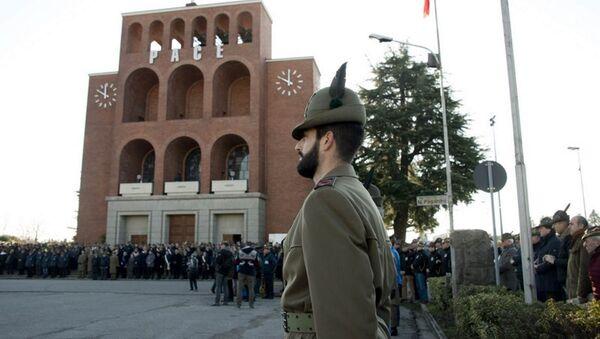 Le commemorazione del 75° anniversario della battaglia di Nikolajewka al Tempio di Cargnacco. - Sputnik Italia