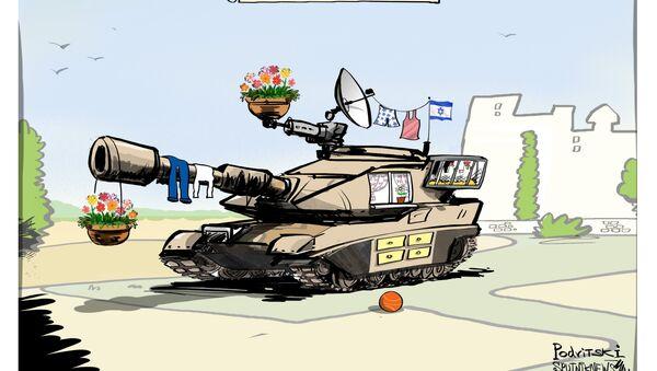 Sicurezza all'israeliana - Sputnik Italia