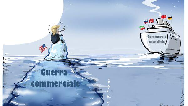 La guerra commerciale di Trump - Sputnik Italia