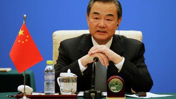 Wang Yi, Ministro degli esteri della Cina - Sputnik Italia