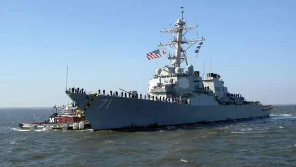 United States Navy destroyer USS Ross has entered Black Sea, to demonstrate the United States' commitment to strengthening the collective security of NATO allies and partners in the region. - Sputnik Italia