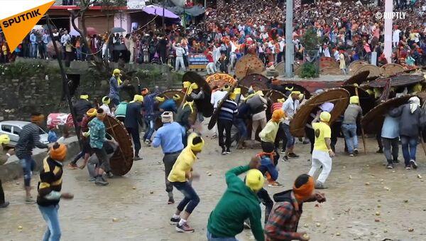 Il festival delle pietre in India - Sputnik Italia