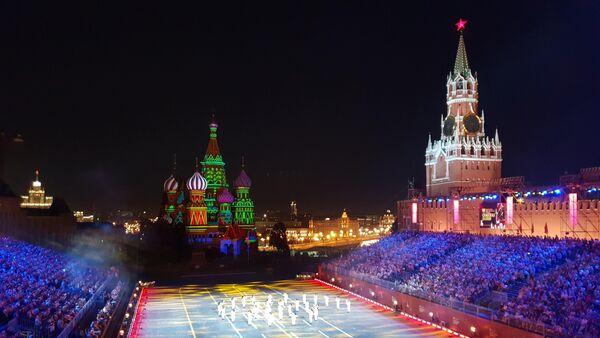 L'esibizione della Fanfara dei Bersaglieri al Festival Spasskaya 2018 a Mosca - Sputnik Italia