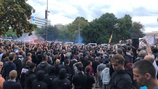 Proteste a Chemnitz - Sputnik Italia